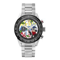 TAG Heuer CAR201AA.BA0714 Steel 2019 43mm new