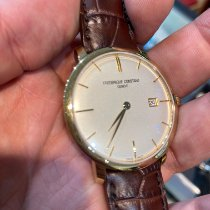 Frederique Constant Slimline Automatic Gold/Steel 40mm Silver