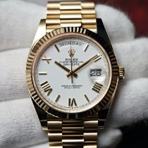 Rolex Day-Date 40 Yellow gold 40mm White United States of America, Florida, Orlando