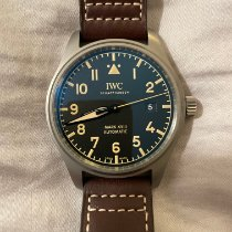 IWC Titanium Automatic Black Arabic numerals 40mm pre-owned Pilot Mark