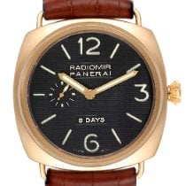 Panerai Radiomir 8 Days Rose gold 45mm Arabic numerals United States of America, Georgia, Atlanta