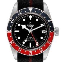 Tudor Black Bay GMT pre-owned 41mm Black GMT Buckle
