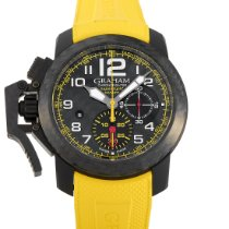 Graham Chronofighter Oversize new Automatic Chronograph Watch with original box and original papers 2CCBK.B15A.K103K