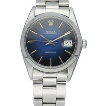Rolex Oyster Precision Steel 34mm Blue United States of America, New York, New York