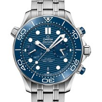 Omega Seamaster Diver 300 M 210.30.44.51.03.001 New Steel 42mm Automatic