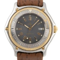 Ebel Discovery Gold/Steel 37.5mm Grey