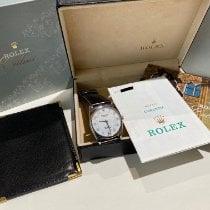 Rolex Cellini Danaos White gold 32mm White Arabic numerals