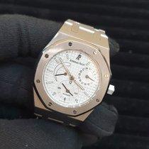 Audemars Piguet Royal Oak Dual Time Steel 36mm White No numerals