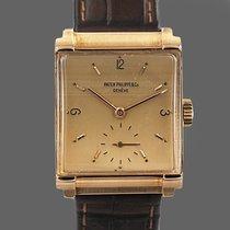 Patek Philippe Roségold Handaufzug Gold Arabisch gebraucht Vintage