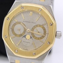 Audemars Piguet 25594SA Steel 1985 Royal Oak Day-Date 36mm pre-owned