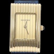 Boucheron Reflet Желтое золото 18mm Золотой Без цифр
