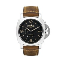 Panerai Luminor 1950 10 Days GMT PAM 00533 Very good Steel 44mm Automatic