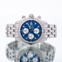 Breitling Chronomat Evolution Acero 44mm Azul