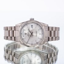 Rolex Day-Date 36 White gold 36mm Silver United Kingdom, Essex