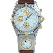 Breitling Gold/Stahl 39mm Automatik Chronomat gebraucht