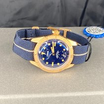 Oris Carl Brashear Bronze 40mm Blue No numerals