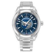 Omega Seamaster Aqua Terra Steel 43mm Blue No numerals