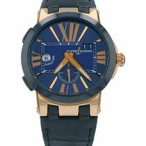 Ulysse Nardin Executive Dual Time Rose gold 43mm Blue Roman numerals United States of America, Florida, Sarasota