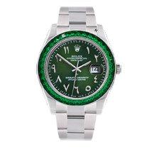 Rolex Datejust II Steel 41mm Green