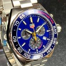TAG Heuer Formula 1 Quartz Steel 43mm Blue No numerals