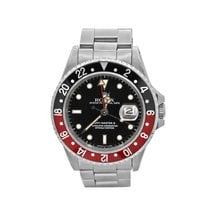 Rolex 16760 Steel 1984 GMT-Master II 40mm pre-owned United States of America, New York, New York