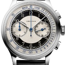 Longines Steel Automatic Silver 40mm new Heritage