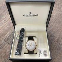 Junghans Meister Chronoscope Stal 40,7mm Srebrny