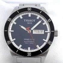 Tissot PRS 516 pre-owned 42mm Blue Date Weekday Steel