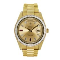 Rolex Day-Date II 218398 Very good Yellow gold 41mm Automatic