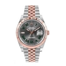 Rolex Datejust II Steel 41mm Grey Roman numerals United States of America, New York, New York