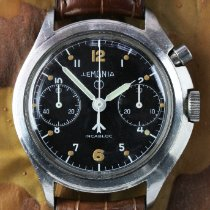 Lemania Steel 40mm Manual winding pre-owned