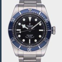 Tudor Black Bay gebraucht 41mm Blau Stahl