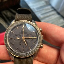 Omega Titanium Manual winding Grey No numerals 42mm pre-owned Speedmaster Professional Moonwatch