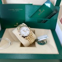Rolex Day-Date 40 Yellow gold 40mm White United States of America, New Jersey, Totowa