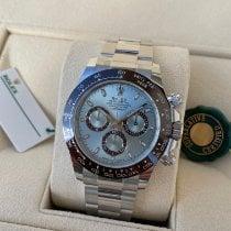 Rolex Platinum Automatic Blue No numerals 40mm new Daytona