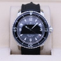 Blancpain pre-owned Automatic 45mm Black Sapphire crystal 30 ATM