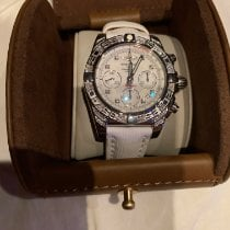 Breitling Chronomat 41 Steel 41mm White No numerals