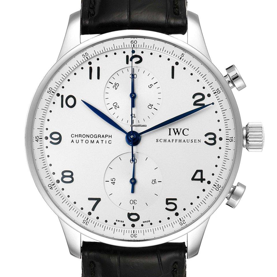 IWC Portuguese Chronograph IW371446 подержанные