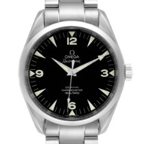 Omega Seamaster Railmaster Steel 39mm Black Arabic numerals United States of America, Georgia, Atlanta