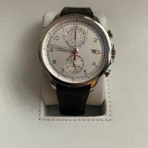 IWC Portugieser Yacht Club Chronograph gebraucht 45.4mm Weiß Chronograph Datum Kautschuk
