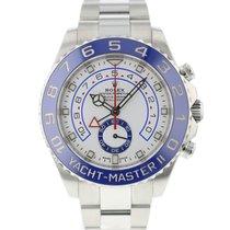 Rolex Yacht-Master II Steel 44mm White Arabic numerals