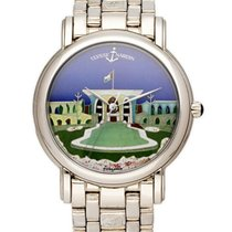 Ulysse Nardin San Marco Cloisonné White gold 37mm United States of America, New York, New York