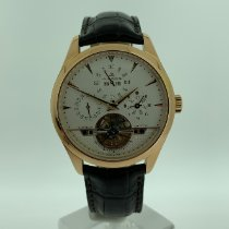 Jaeger-LeCoultre Master Grande Tradition Rose gold 43mm Silver No numerals