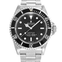 Rolex Submariner (No Date) Steel 40mm Black No numerals India, Mumbai,