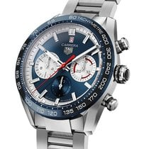 TAG Heuer Carrera Heuer-02T neu 2021 Automatik Uhr mit Original-Box und Original-Papieren CBN2A1E.BA0643
