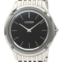 Citizen Eco-Drive One Steel 40mm Black