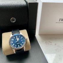 IWC Pilot Mark Steel 40mm Blue Arabic numerals