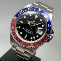 Rolex 16710 Aço 2000 GMT-Master II 40mm usado