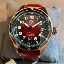 TAG Heuer Bronze Automatik Rot Arabisch 42mm neu Autavia