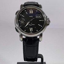 Ulysse Nardin Steel Automatic Black pre-owned San Marco Big Date